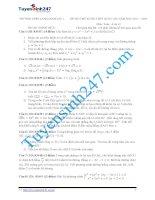 Đề thi thử THPT môn Toán 2015 số 38