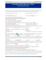 370 câu trắc nghiệm lý thuyết Vật lý (2)