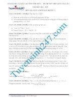 Đề thi thử THPT môn Toán 2015 số 28