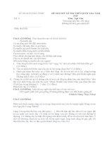 đề thi minh họa hướng dẫn chấm môn ngữ văn 12 sở giáo dục đào tạo bắc ninh đề số 9