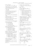 Tài liệu ôn thi Toán lớp 12 (3)