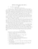 ĐỀ ôn LUYỆN TIẾNG VIỆT lớp 4, đề tham khảo số 1