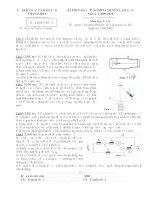 Đề thi vật lý 9 - Đề học sinh giỏi lý vào 10 chuyên Lam Sơn sưu tầm bồi dưỡng