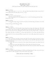 Đề thi dành cho học sinh giỏi toán lớp 5 - Đề 2