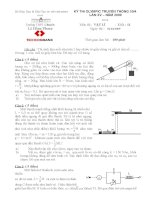 Đề thi học sinh giỏi môn vật lý lớp 11 (89)