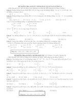 Tài liệu ôn thi Toán lớp 12 (7)