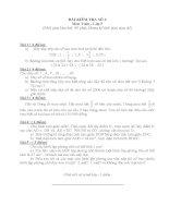 Đề thi dành cho học sinh giỏi toán lớp 5 - Đề 4
