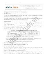 Đề thi thử Đại học môn Địa Lý Đợt 2 Tháng 6 năm 2014, trường THPT Chuyên Lam Sơn, Thanh Hóa