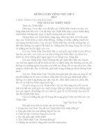 ĐỀ ôn LUYỆN TIẾNG VIỆT lớp 4, đề tham khảo số 5