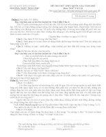 tuyên tập đề thi ngữ văn THPT Quốc gia