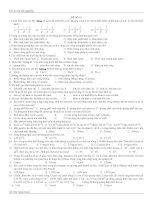 đề ôn tốt nghiệp môn toán, số 12