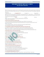 370 câu trắc nghiệm lý thuyết Vật lý (1)