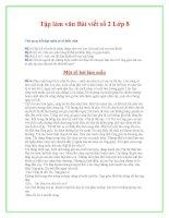 Đề văn lớp 8 - một số đề kiểm tra vào hướng dẫn tham khảo bồi dưỡng