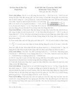 Tuyển tập đề thi HSG môn vật lý lớp 12 hay nhất  (36)