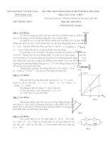Tuyển tập đề thi HSG môn vật lý lớp 12 hay nhất  (35)