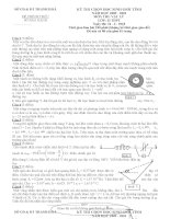 Tuyển tập đề thi HSG môn vật lý lớp 12 hay nhất  (33).DOC