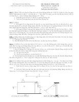 Đề học sinh giỏi VL10 - THPT Lê Hồng Phong, Hải Phòng môn vật lý