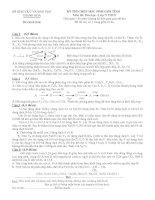 tuyển tập đề thi hsg hóa lớp 9