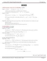 Đề thi thử đại học môn Toán (15)