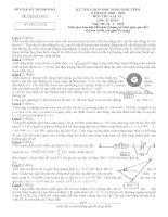 Tuyển tập đề thi HSG môn vật lý lớp 12 hay nhất  (104).DOC