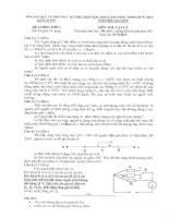 Tổng hợp đề thi học sinh giỏi vật lý 9 tỉnh kiên giang từ năm 2006 đến 2015(có đáp án)
