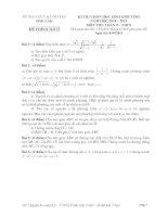Đề thi học sinh giỏi môn toán 9 tỉnh ĐắK LắK năm học 2014  2015 (có đáp án)