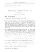 ĐỀ THI MINH HỌA-KỲ THI THPT QUỐC GIA NĂM 2015 MÔN NGỮ VĂN TỈNH TÂY NINH