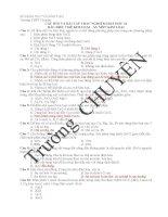 CÂU hỏi và bài tập TRẮC NGHIỆM HOÁ học 12 bài   điều CHẾ KIM LOẠI   ăn mòn KIM LOẠI