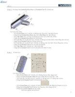 Bài tập và hướng dẫn vẽ SolidWorks