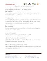 Đề thi lịch sử lớp 12 - sưu tầm đề và đáp án thi sử tham khảo (21)
