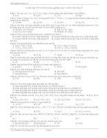Tuyển tập 100 câu hỏi trắc nghiệm hay và khó hóa học 8 của cô giáo nguyễn thị hồng hoá