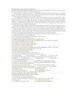 Đề thi môn tiếng anh 12 phần đọc hiểu số 6