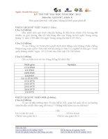 Đề thi lịch sử lớp 12 - sưu tầm đề và đáp án thi sử tham khảo (27)