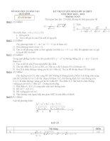 đề thi tuyển sinh toán lớp 10 tỉnh thái bình năm 2012