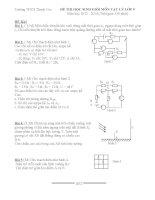 Tổng hợp đề thi HSG Vật Lý lớp 9  (15)