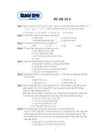 ĐỀ ÔN THI TỐT NGHIỆP THPT QUỐC GIA MÔN HÓA HỌC ĐỀ 6
