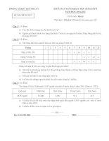 Đề thi năng khiếu môn Địa lý lớp 8 năm học 2014-2015 Phòng GD-ĐT Quỳnh Lưu, Nghệ An
