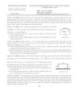 Đề thi HSG tỉnh Quảng Bình lớp 12 vòng 2 năm 2011 môn vật lý