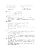 đề thi chọn hsg toán 9 đề 4