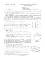 Đề thi HSG lớp 11 năm 2013 Quảng Bình môn vật lý