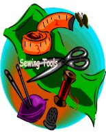 Sewing tools - Different Tools