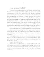 Nghiên cứu các giải pháp tăng diện tích tưới của hệ thống thủy nông Pa Khoang - Nậm Rốm, tỉnh Điện Biên