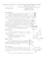 Đề và Đáp án Học Sinh Giỏi Vật Lý 12 (có đáp án) (43)