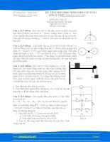 Đề & đáp án thi HSG VL12 tỉnh Bà Rịa - Vũng Tàu năm 2011 môn vật lý