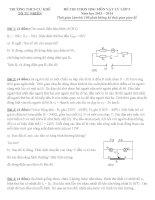 Tổng hợp đề thi HSG Vật Lý lớp 9  (7)