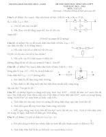 Tổng hợp đề thi HSG Vật Lý lớp 9  (13)