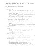 Bài tập quá trình THIẾT KẾ VẬT LIỆU MỚI CHO SẢN PHẨM MAY & THỜI TRANG