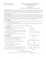 Tổng hợp đề thi HSG Vật Lý lớp 9  (11)