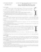 Đề và Đáp án Học Sinh Giỏi Vật Lý 12 (có đáp án) (39)