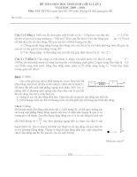 Đề và đáp án thi chọn HSG VL 12 2009 - 2010 môn vật lý